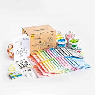 Strawbees STEAM School Kit Classroom Building Set, 4060 Pieces