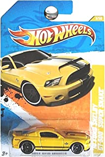Hot Wheels 2011 '10 Shelby Mustang GT500 Supersnake Super Snake Yellow
