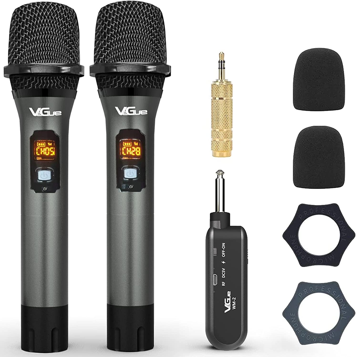 Wireless Microphone VeGue Popular products UHF Cordless Mi Dual Handheld Free shipping Dynamic