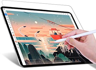 JETech Write Like Paper Screen Protector Compatible with iPad Pro 12.9-Inch (2020 and 2018 Model), Anti-Glare, Matte PET P...