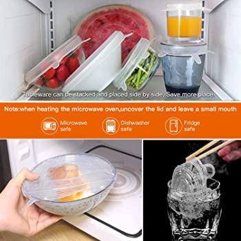 Lovely Fruit Orange Silicone Suction Lids Silicone Covered Cooking Pot Lid TK