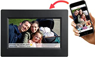 Feelcare 7 Inch Smart WiFi Digital Picture Frame with Touch Screen, IPS LCD Panel, Built in 8GB Memory, Wall-Mountable, Po...
