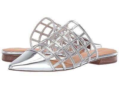 Sigerson Morrison Eddi (Silver New Specchio) Women
