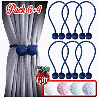 navy tie backs