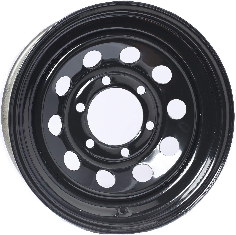 2-Pack Trailer Superior Rim Wheel 15X6 Black 2830 Center Overseas parallel import regular item Modular Lb. 4.27