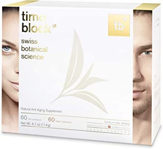 timeblock® Vital Anti Aging Nutrition by Swiss Botanical Science Supports DNA and Cell Repair by Lengthening of Telomeres ...