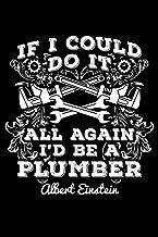Einstein - a plumber!: Notebook for Pipe-Fitter Plumber Pipe-Fitter shirts for men Pipe-Layer 6x9 in dotted bullet journal