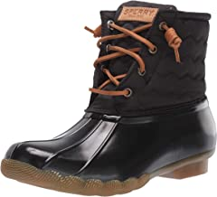 Sperry Women's Saltwater Chevron Quilt Nylon Boots