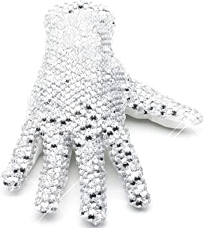 Thriller9 MJ Michael Glove Collection Diamond Shining Crystal Billie Jean Glove