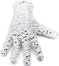 Thriller9 MJ Michael Glove Collection Diamond Shining Crystal Billie Jean Glove