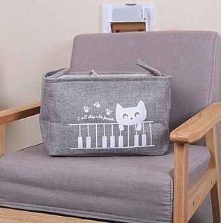 MJY Paniers à linge Design mignon Design de mode épaisse grande capacité sac de rangement pliable durable avec sac de rang...