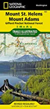 Mount St. Helens, Mount Adams [Gifford Pinchot National Forest] (National Geographic Trails Illustrated Map (822))