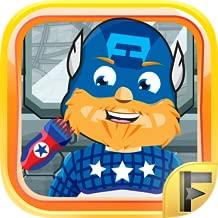 Superhero Shave Salon - Free Fun Comic Games For Kids