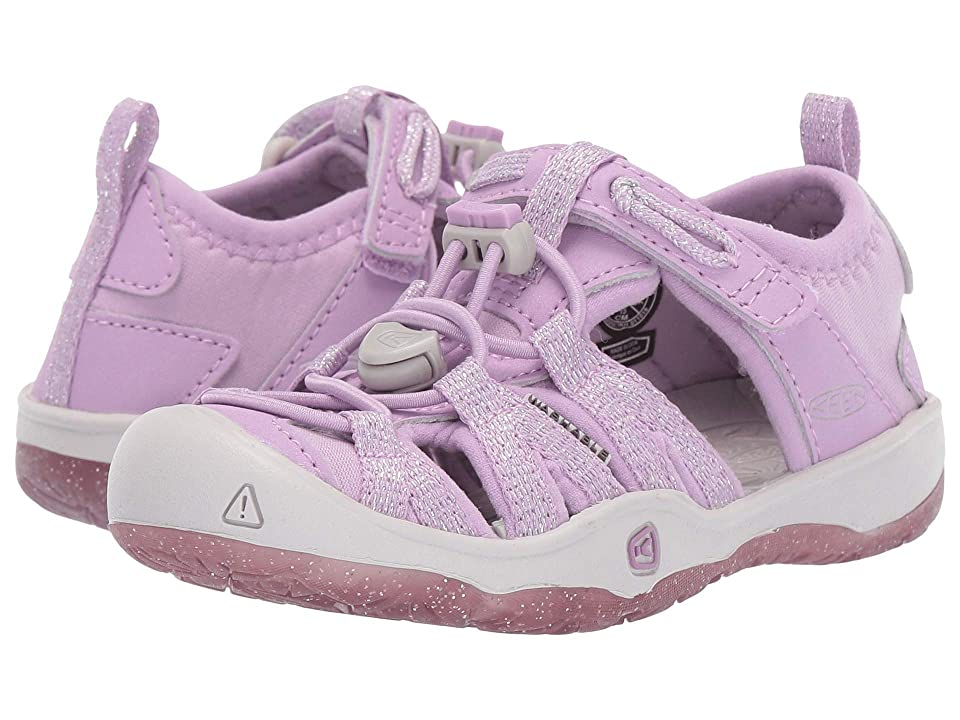 Keen Kids Moxie Sandal (Toddler/Little Kid) (Lupine/Vapor) Girls Shoes