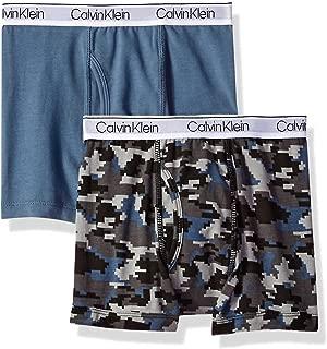 Calvin Klein Boy's Kids Modern Cotton Assorted Boxer Briefs Underwear, Multipack