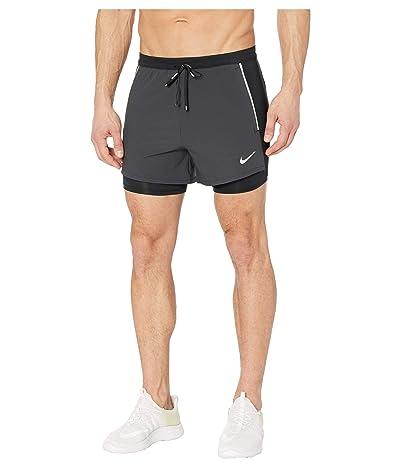 Nike Flex Swift Shorts 2-in-1 Hybrid (Black/Black/Reflective Silver) Men
