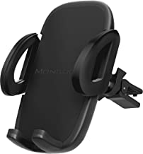 Universal Air Vent Car Phone Mount Holder – 2019 Updated Version by Mongoora – for Any Smartphone – Car Cell Phone Holder – Vent Phone Holder – Car Vent Mount – Air Vent Mount Holder – for Women Men.