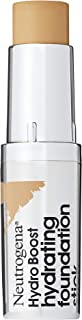 Neutrogena Hydro Boost Hydrating Foundation Stick With Hyaluronic Acid, Oil-free & Non-comedogenic Moisturizing Makeup for Smooth Coverage & Radiant-looking Skin, Honey, 0.29 Oz