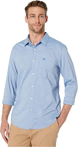 Zeller Refined Shirting Delft Embroidery