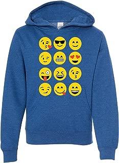 Emoji Premium Youth Sweatshirt Hoodie