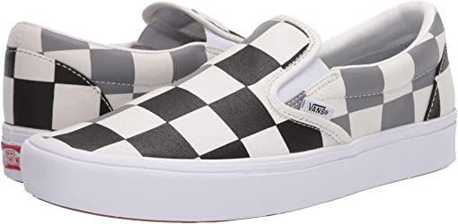 (Half Big Checker) Black/Frost Gray