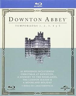 Pack Downton Abbey - Temporadas 1-5 [Blu-ray]