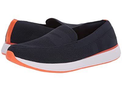 SWIMS Breeze Wave Penny (Navy/Orange) Men