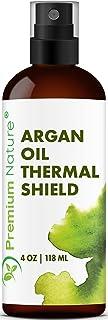 Argan Oil Hair Protectant Spray – Thermal Heat Flat Iron Straightening Protectors..