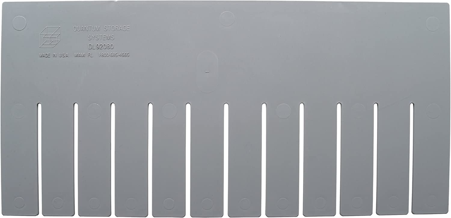 Quantum Storage Systems DL92080 Long for Grid Divider Limited time sale Dividable Boston Mall