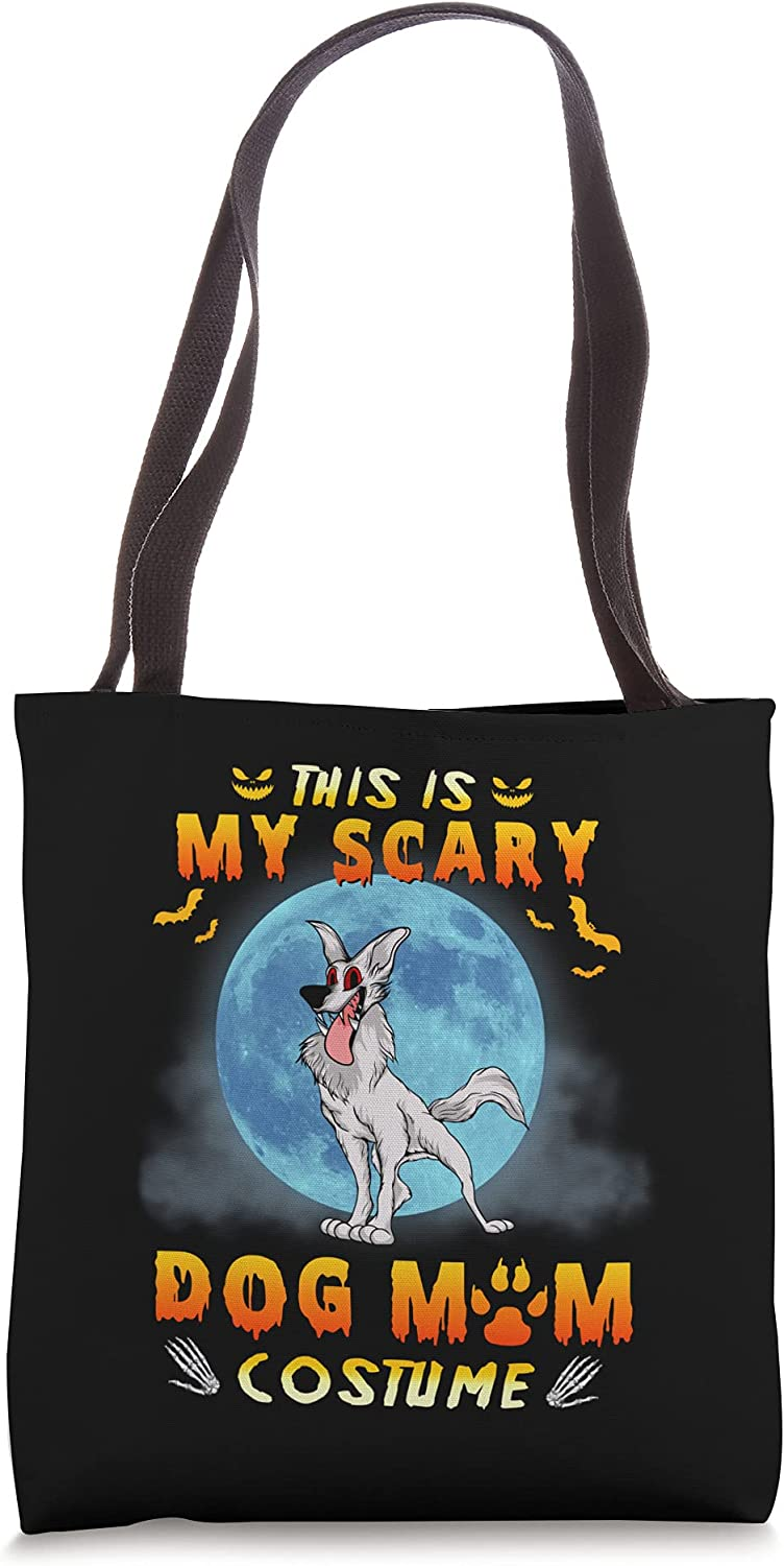 This Is My San Francisco Mall Scary Ranking TOP15 Dog Mom Costume Halloween Bag Funny Tote Puppy