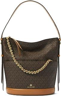 MICHAEL Michael Kors Women's Reese Signature Canvas Large Shoulder Bag