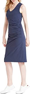 NIC+ZOE Women's Tech Stretch Ruche Dress