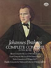 Complete Concerti in Full Score (Dover Music Scores)