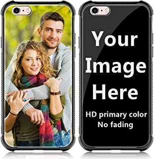 Shumei Custom Case iPhone 6 Plus or 6S Plus Glass Cover 5.5 inch Anti-Scratch Soft TPU Personalized Photo Make Your Own Picture Phone Cases