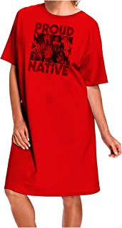 TOOLOUD Proud Native American Adult Wear Around Night Shirt and Dress