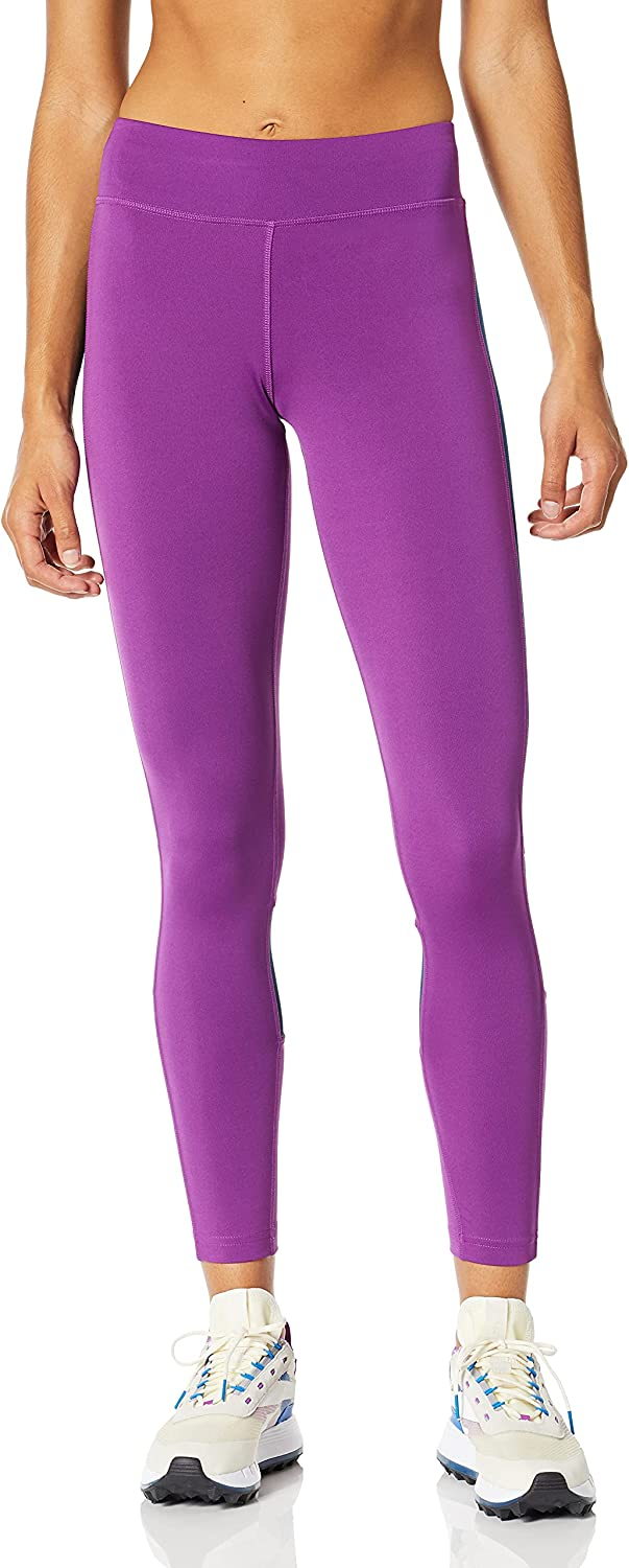 Reebok Women's Mesh Max 64% Animer and price revision OFF Workout Tights Insert