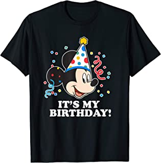 Mickey Mouse It�s My Birthday T-Shirt