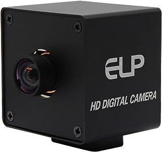 ELP 1300万画素WebカメラUSB 広角 高画質 サポートウルトラHDウェブカメラ Sony IMX214センサーWebカメラ付きUSB Windows/Mac/Linux/Raspberry pi対応 プラグアンドプレイUVC 13MP...