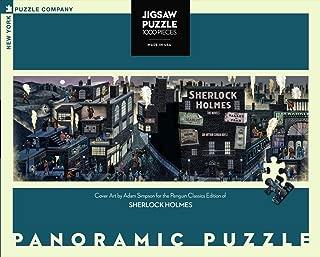 New York Puzzle Company - Penguin Random House Sherlock Holmes - 1000 Piece Jigsaw Puzzle