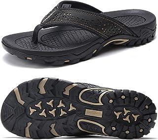 Chanclas Hombre Sandalias Deportivo de Playa y Piscina Verano Zapatillas Flip Flops con Suela de Goma