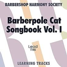 Barbershop Barberpole Cat Learning Tracks (Lead)