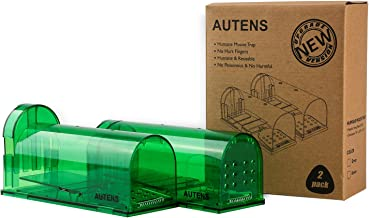AUTENS Humane Mouse Trap, No Kill Live Catch and Release Rat Trap (7.91