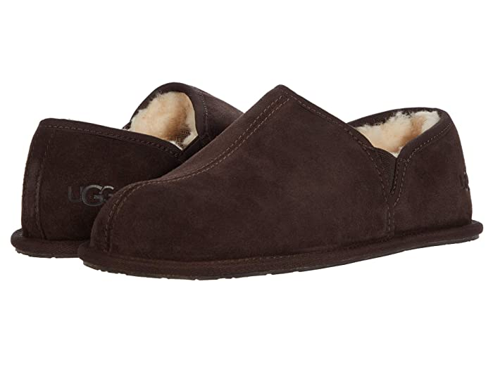 1950s Men's Shoes | Boots, Greaser, Rockabilly UGG Scuff Romeo II Espresso 1 Mens Slippers $99.95 AT vintagedancer.com