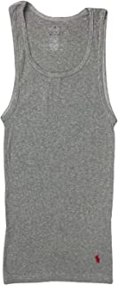 Polo Ralph Lauren Men's Knit Ribbed Heathered Tank Top
