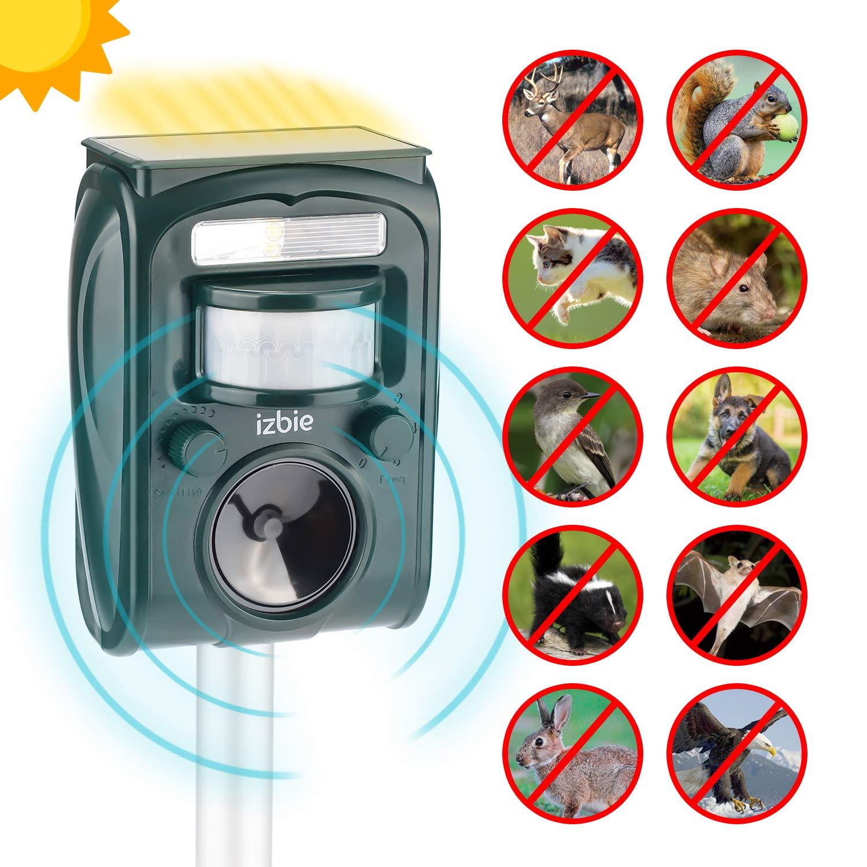 Izbie Ultrasonic Squirrel Deer Repellent