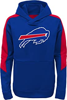 Majestic Buffalo Bills Youth NFL Hyperlink Performance Hooded Sweatshirt