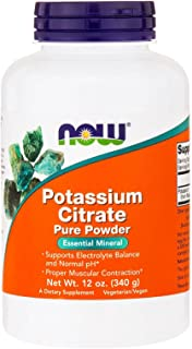 Now Foods, Potassium Citrate Pure Powder, 12 oz (340 g) - 3PC