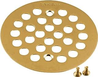 Moen 101664BG Kingsley 4-1/4-Inch Screw-In Shower Strainer, Brushed Gold