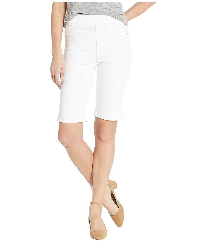 FDJ French Dressing Jeans D-Lux Denim Pull-On Bermuda in White (White) Women's Shorts