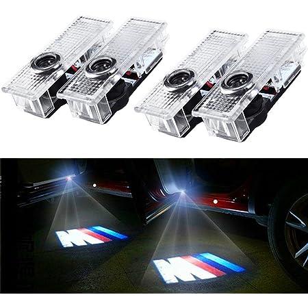Adatto per Cayenne Luci LED Porta Fornito da Luce di Benvenuto 2011-2018 Logo Luminoso Proiettore Logo Automatico